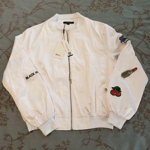 Haoduoyi Patch Bomber Jacket size XXL